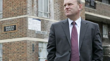 Mayor John Biggs supporting social housing. Picture: LABOUR PTY