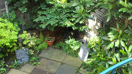 'Secret' garden in Spitalfields opening up on June 10. Picture: SOCIETY FOR THE PRESERVATION OF ANCI