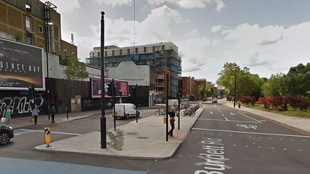 The attack took place in Burdett Street. PICTURE: Google StreetView