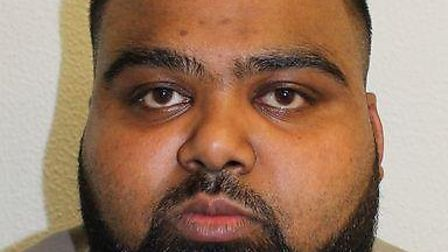 Islam was jailed after driving his car into three men celebrating Eid in Stepney Picture: Met Police