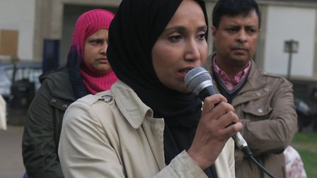 'Our children have been left in danger'... People's Alliance opposition leader Rabina Khan. Picture: