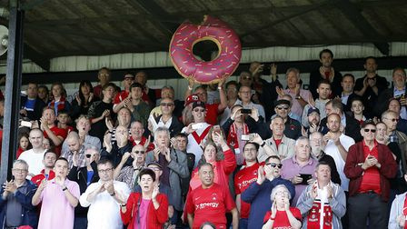 Leyton Orient fans turned out in force at Sutton United (pic: Simon O'Connor).
