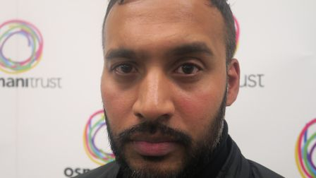 Shaynul Khan, uncle of Bethnal Green acid attack vicitim, calling for tougher laws. Picture: Mike Br