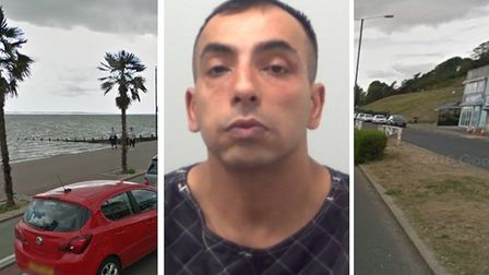 Cloud over Taz Uddin now serving five years for drug running at Southend-on-Sea. Picture: Essex Poli
