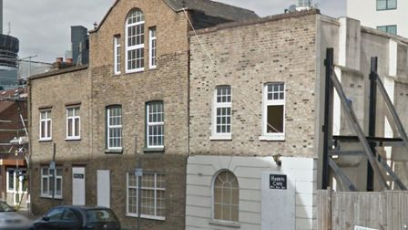 Victorian cottages on Isle of Dogs before being demolished overnight. Picture: Google