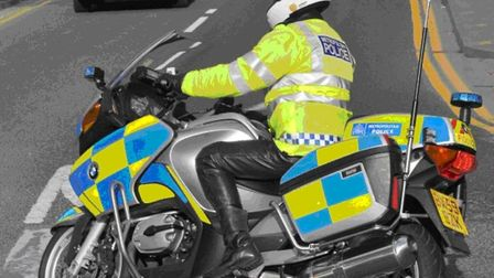 Police take on groups of bikers in east London. Picture: Met Police