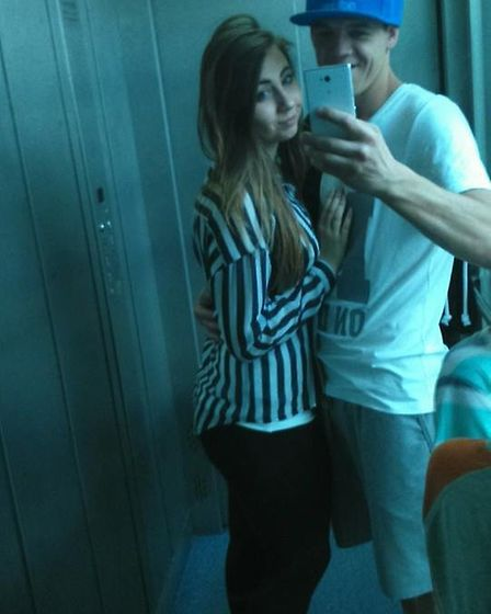 Karolina Chwiluk and Grzegorz Kosiec were once a couple. Picture credit: Facebook