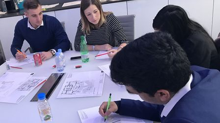 Youngsters in east London join Poplar Harca's job skills programme. Picture: Poplar Harca