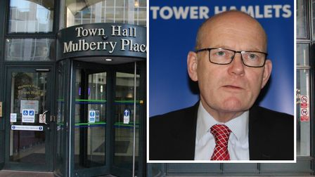 Warning shot fired by Tower Hamlets Mayor Biggs at Chancellor Hammond over budget police cuts. Pictu