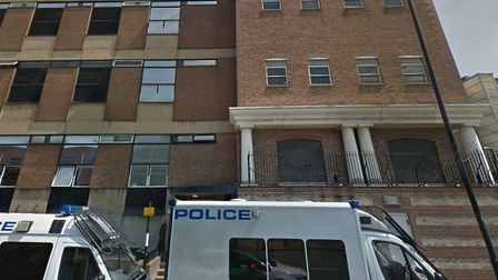 Limehouse police station closing to the puiblic. Picture: Google