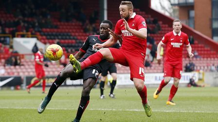 Sammy Moore in action for Leyton Orient during the 2015/16 campaign (pic: Simon O'Connor).