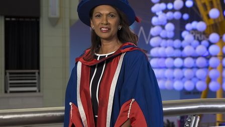 Brexit challenger Gina Miller gets honourary law doctorate from UEL. Picture: David Harrison
