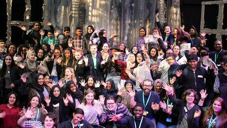 East London's Half Moon theatre starts annual 'Careers in Theatre' drama-production course for GCSE