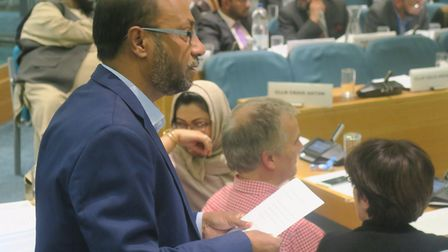 """Cllr Khales Uddin Ahmed: """"Anyone who has broken the law should be prosecutedI'm ready to give evide"""