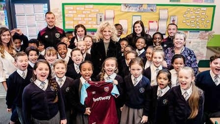 The singer is inspiring young poets to get involved in the Premier League�s Writing Stars poetry co