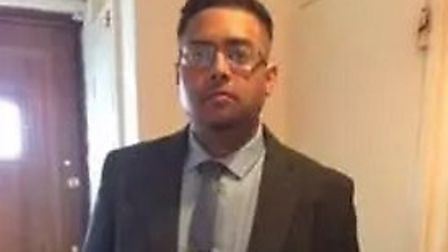 Syed Jamanoor Islam was stabbed to death in April. Picture: Met Police.