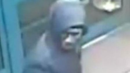 Police would like to speak to this man in connection with the attack. Picture credit: Met Police.