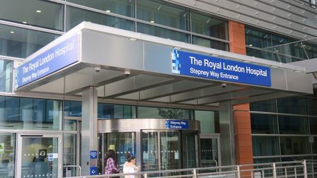 The Royal London Hospital in Whitechapel. Picture: Mike Brooke