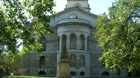 St George's-in-the-East parish church in Shadwell. Picture: Mike Brooke