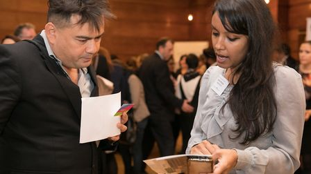 Getting to grips with new apprenticeship opportunities in East London. Picture: Kois Miah