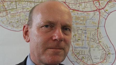 Mayor John Biggs... unaware 'Big Half' charity run would go through Wapping where he lives. Picture: