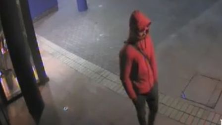 Police would like to speak to this man. Picture credit: Twitter@MPSTowerHam
