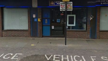 Cuts... Brick Lane police office. Picture: Google