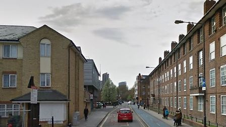 A parked car in Cable Street, Shadwell, lead police to seize cannabis, Class A drugs and more than £