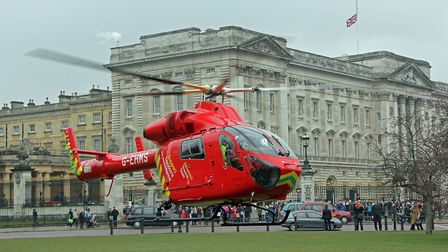 London's Air Ambulance Charity relies on donations to keep services running. Picture: Matthew Bell