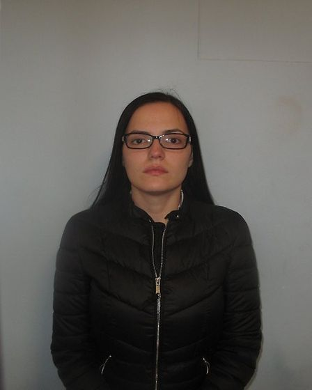 Simona Gheorghe of Devon's Road, Tower Hamlets, was handed a suspended sentence. Photo: Met Police