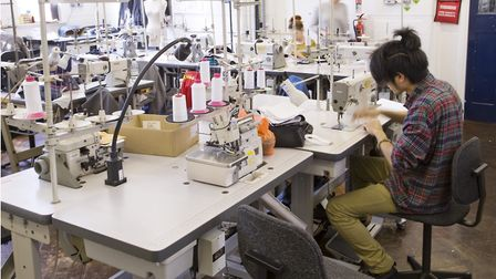 East London's revitalised garment trade in the 21st century. Picture: Jas Lehal