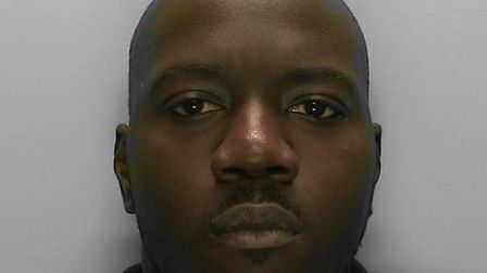 Akel Isaac was sentenced to 40 months' imprisonment after being caught dealing drugs at Crawley trai
