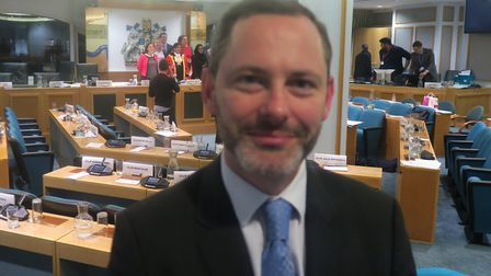 Stephen O'Shea... presented petition to Tower Hamlets Council for speed cameras in Wapping. Picture: