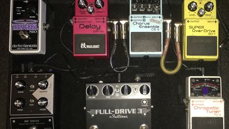 A selection of the stolen pedals. Picture: Bloody Knees