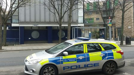 A 35-year-old man died after being stabbed in Galleon House. Picture: Ken Mears