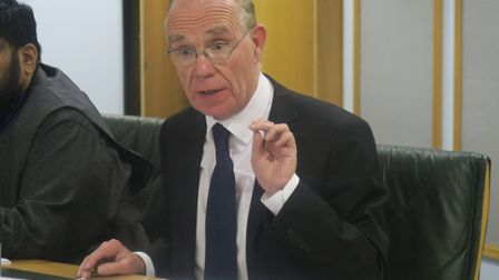 Peter Golds who is challenging Tower Hamlets council election procedures that almost cost him his I