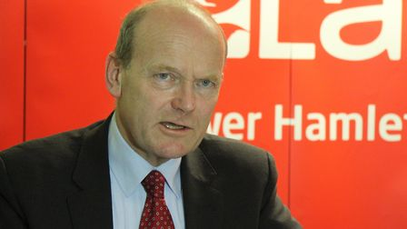 Tower Hamlets mayor John Biggs under fire over plans to give cabinet members 60pc more pay. Picture: