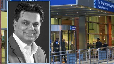 Prof surgeon Shafi Ahmed of the Royal London Hospital in Whitechapel. Picture sources: Barts NHS Tru
