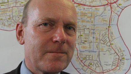 Tower Hamlets Mayor Biggs aiming to stop cruise-liner terminal polluting Isle of Dogs. Picture: Mike