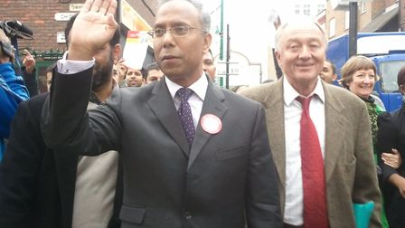 2010... Campaign trail in Roman Road with Ken Livingstone. Picture: Dan McCurry/Lab Pty