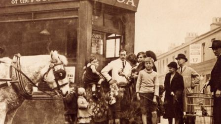 One of the original PDSA clinics in Bow Common, 1920s. Picture source: PDSA