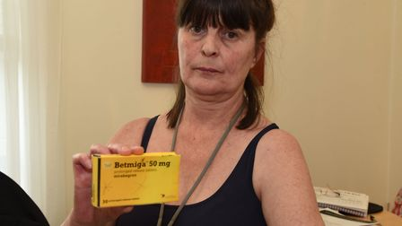Deborah Cluff first took the drug four years ago. Picture: Ken Mears