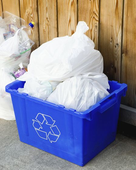 Recycling collections are delayed