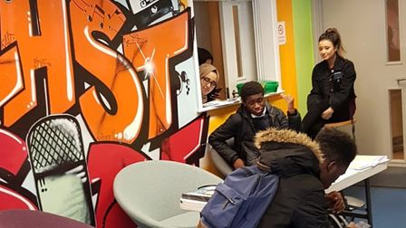 Spotlight's new music studio opens at Eastside youth centre in Bow. Picture source: Spotlight