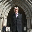 Paul Kohler arrives at the High Court in London Picture: Victoria Jones/PA Wire