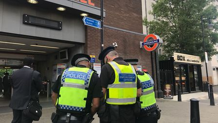 Tower Hamlets Council and British Transport Police are offering support to people who repeatedly beg