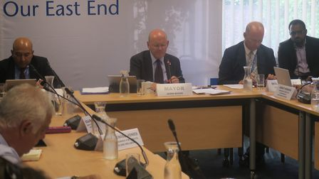 Tower Hamlets cabinet meeting votes for consultations on closing three day-care nurseriies. Picture:
