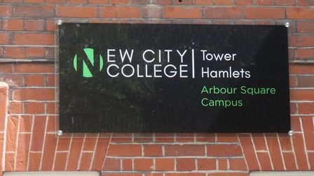 New City's Arbour Square campus in Stepney where English language courses are run. Picture: Mike Bro