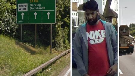 Man police want to trace thought to live in east London for investigations into road collisions on t