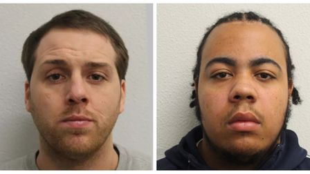 Conor Armstrong (left) and Steven Brissett. Picture: Met Police